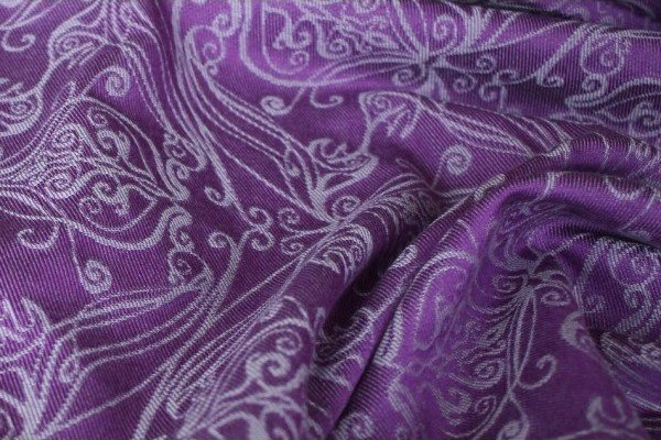 Yaro Elvish Purple Silver Ring Sling
